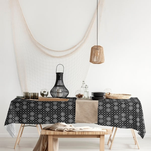Classic Lattice Rectangle Tablecloth - 58 x 102. Opens flyout.