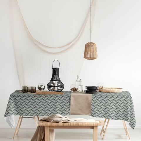 Chevrons Rectangle Tablecloth - 58 x 102