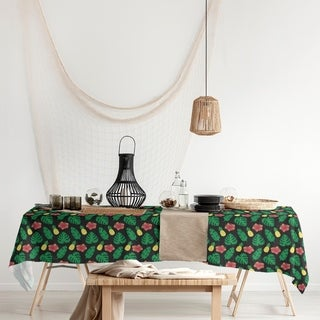 Link to Tropical Pattern Rectangle Tablecloth - 58 x 102 Similar Items in Table Linens & Decor