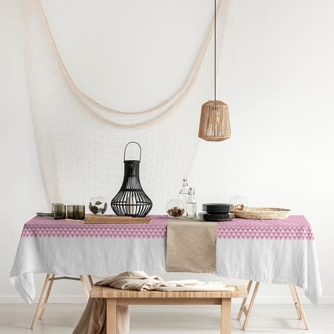 Mountain Pattern Rectangle Tablecloth - 58 x 102