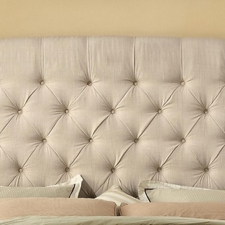 Moser Bay Leatham Upholstered Wingback Headboard