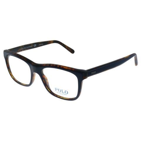 Polo Ralph Lauren PH 2173 5638 51mm Unisex Blue on Havana Frame Eyeglasses 51mm