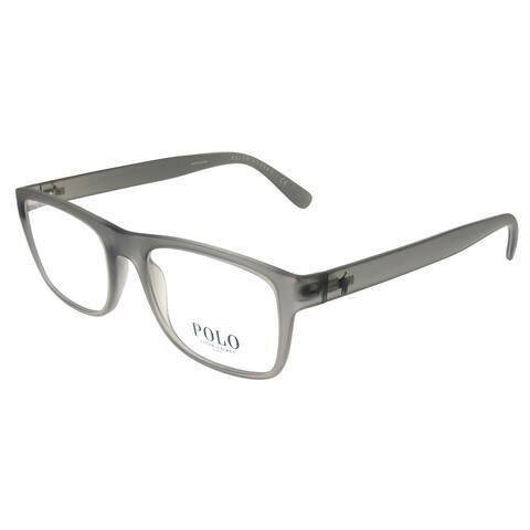 Polo Ralph Lauren PH 2161 5111 53mm Unisex Matte Grey Frame Eyeglasses 53mm