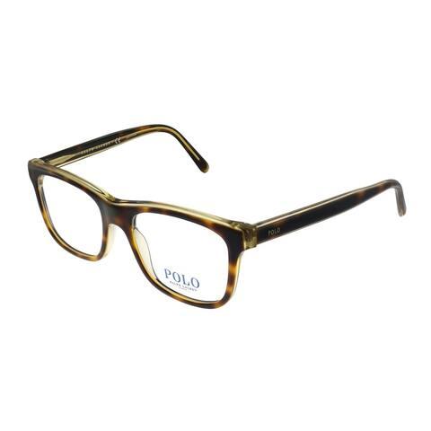 Polo Ralph Lauren PH 2173 5637 51mm Unisex Havana on Crystal Frame Eyeglasses 51mm