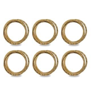 DII Metallic Intertwined Napkin Ring (Set of 6)