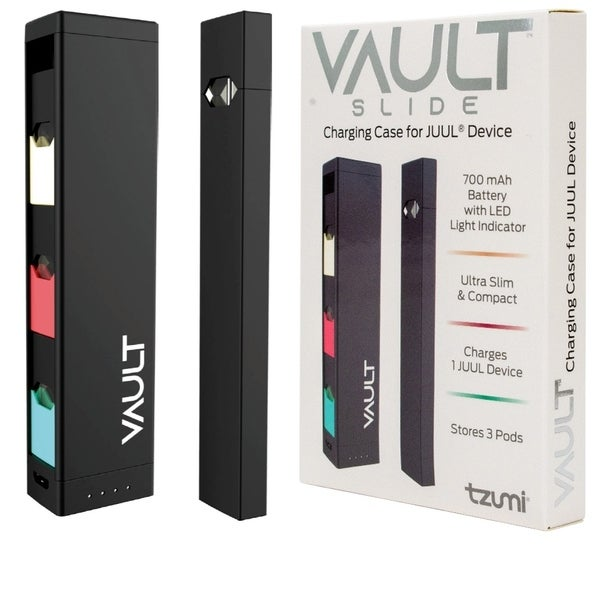Shop Tzumi Vault Slide Charging Case for JUUL Device Holds 4