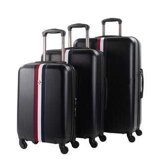 Link to American Sport Plus Stripes 3-Piece Spinner Expandable Luggage Set Similar Items in Luggage Sets