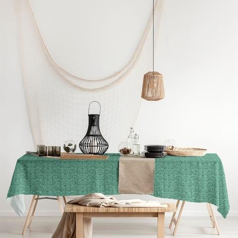 Third Eye Pattern Rectangle Tablecloth - 58 x 102