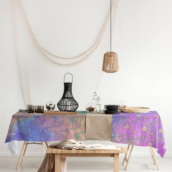 Multicolor Planets & Stars Rectangle Tablecloth - 58 x 102. Opens flyout.