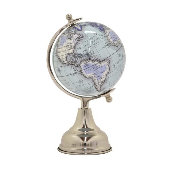 """9 """" Globe 5"""" in Blue - 5 x 5 x 9"""