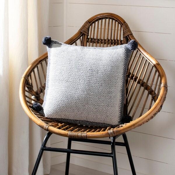 Shop Safavieh 20 Quot Dania Knit Pillow On Sale Free