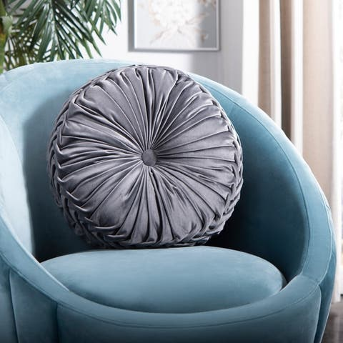 "Safavieh 18"" Round Leila Pillow"