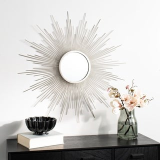 "Safavieh 36"" Madilyn Sunburst Mirror - Champagne - 36"" x 0.8"" x 36"""