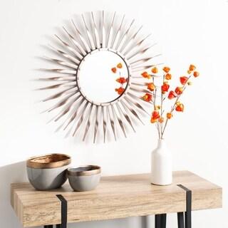 "Safavieh 28"" Marlene Sunburst Mirror - Gold/Rose - 28.3"" x 1"" x 28.3"""