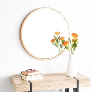 "Safavieh 30"" Eason Mirror - Copper - 30"" x 1.5"" x 30"""