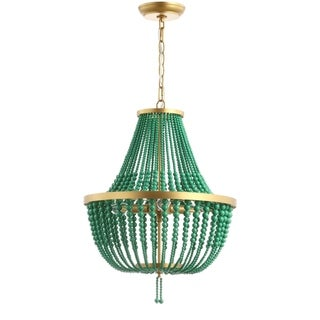 "Safavieh Collection Inspired by Disney's Live Action Film Aladdin-Safavieh Lighting Prince Chandelier - 16.5"" x 16.5"" x 25-97"""