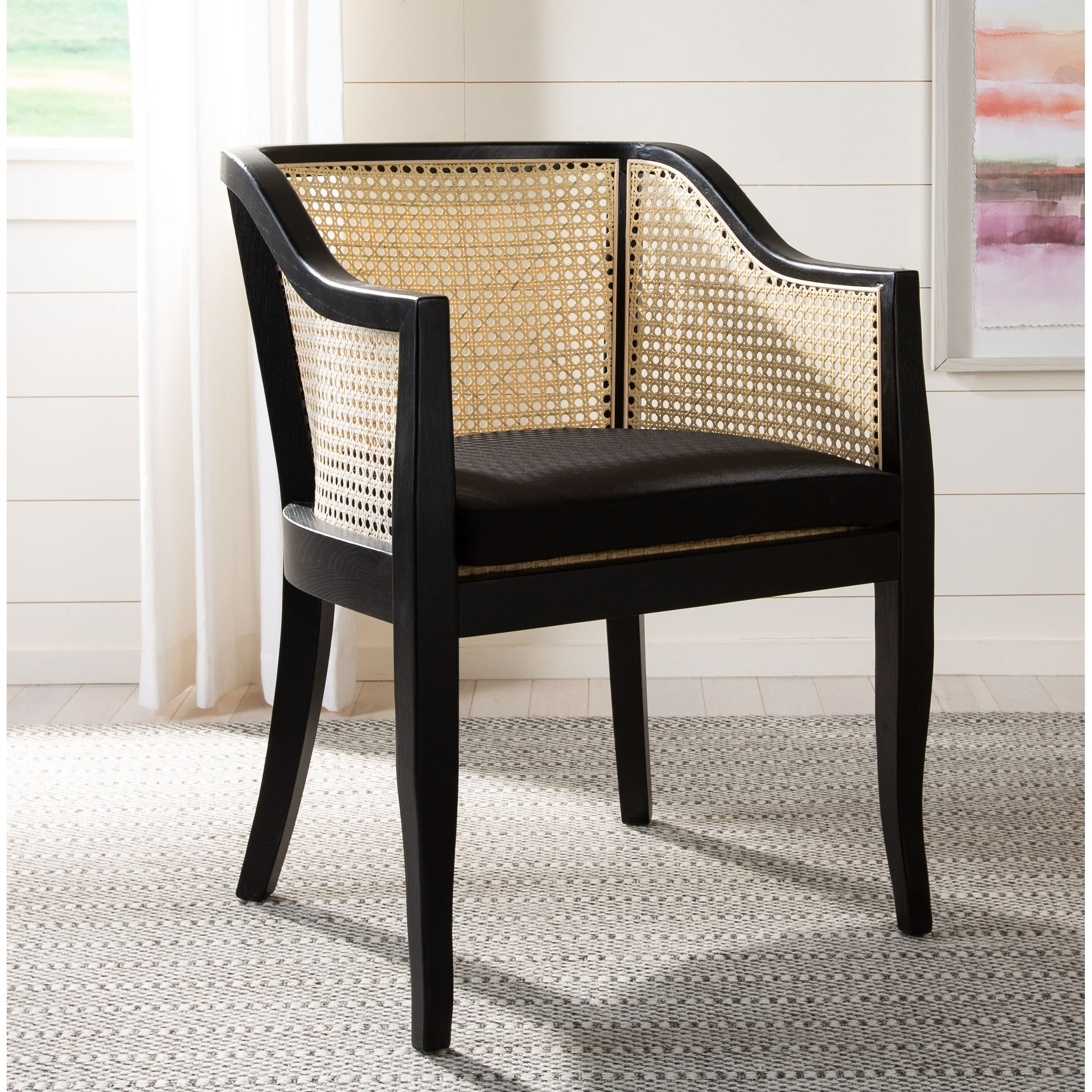 Brilliant Safavieh Rina Cane Dining Chair Ncnpc Chair Design For Home Ncnpcorg
