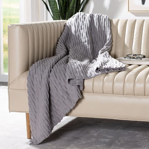 Safavieh Noela Knit Throw