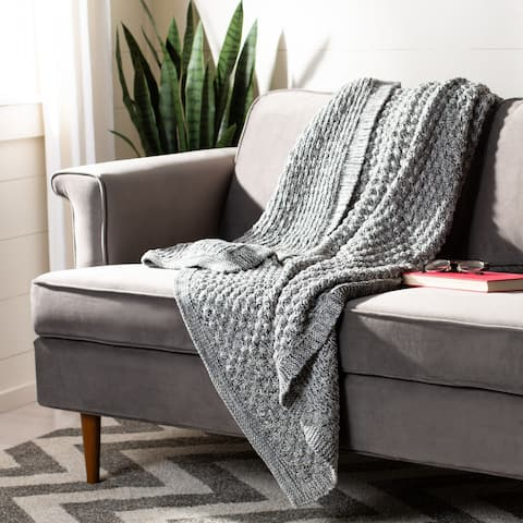 Safavieh Janan Knit Throw