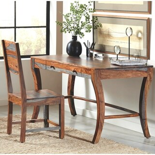 Modern Rustic Design Home Office Desk and Chair Collection