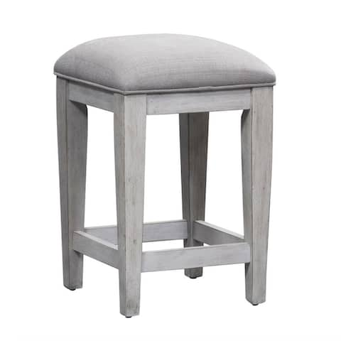 Heartland Antique White Console Stool