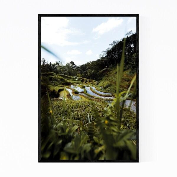 Noir Gallery Bali Indonesia Nature Photography Framed Art Print