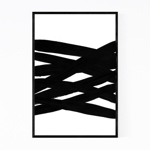 Noir Gallery Abstract Acrylic Painting Framed Art Print