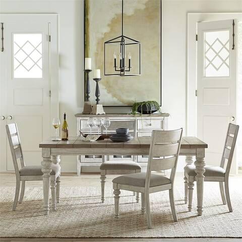 Heartland Antique 5-piece Rectangular Table Set
