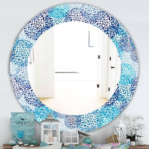 Blue Design Art Mirrors Shop Online At Overstock
