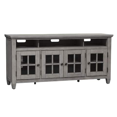 Heartland Antique White Entertainment Tv Stand
