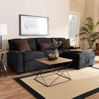 Carson Carrington Jungbis Upholstered Sectional Sofa