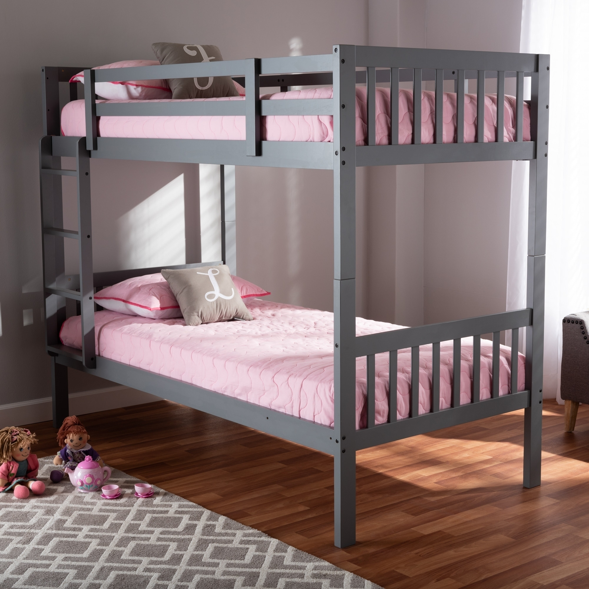 Modern And Contemporary Bunk Bed Overstock 28560706