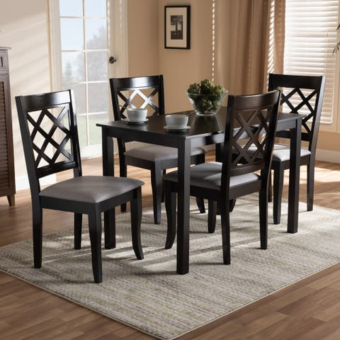 Copper Grove Aden Modern Fabric 4-piece Dining Chair Set