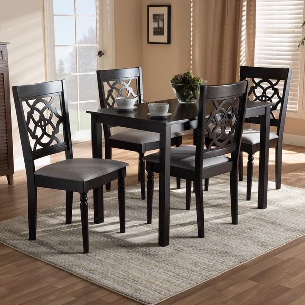 Modern and Contemporary Upholstered 5-Piece Dining Set
