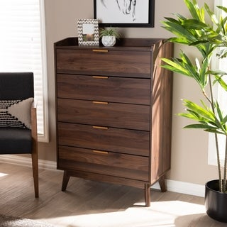 Mid-Century Modern 5-Drawer Chest