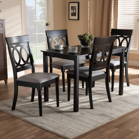 Copper Grove Taizz Modern Fabric 5-piece Dining Set