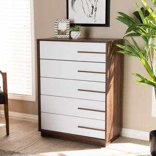 Link to Mid-Century Modern 5-Drawer Chest Similar Items in Living Room Furniture