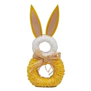 DII Rabbit Napkin Rings (Set of 6)