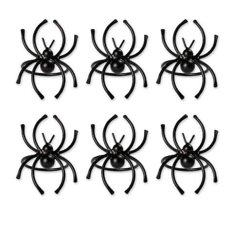 DII Spider Napkin Ring (Set of 6)