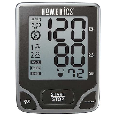 HoMedics BPA-065 Deluxe Arm Blood Pressure Monitor with Smart Measure Technology