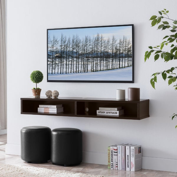 Carson Carrington Rydstorp Floating Wall-mounted Media Console