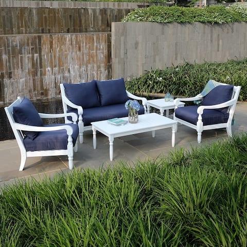 Cambridge Casual Lyon 5-piece Patio Conversation Set with Cushions
