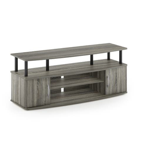 Furinno JAYA Large Entertainment Center Hold up to 50-IN TV