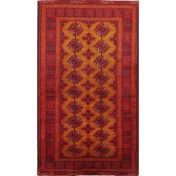 """Balouch Vintage Hand Knotted Wool Persian Oriental Area Rug - 6'0"""" x 3'5"""""""