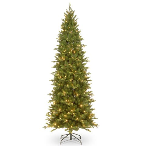7.5 ft. PowerConnect(TM) Ashland Spruce Slim Tree with Dual Color® LED Lights