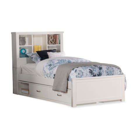 Highlands Bookcase Bed with Storage Unit