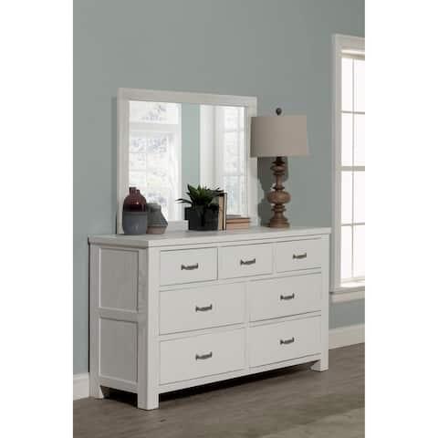 Highlands 7 Drawer Dresser with Mirror