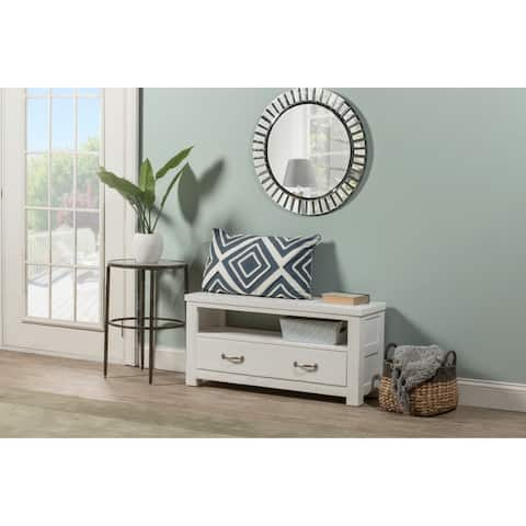 Highlands Dressing Bench - White Finish