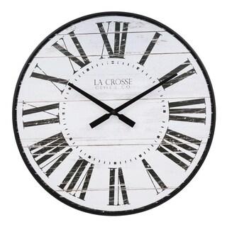 La Crosse Clock BBB81434 21 Inch Kenley Quartz Wall Clock