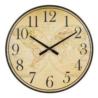 La Crosse Clock BBB81397 21 Inch Voyager Quartz Wall Clock